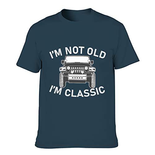 Lind88 I'm Not Old I'm Classic - Camiseta para hombre, diseño de sarcasmo