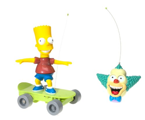 The Simpsons Radio Control Skateboarding Bart Simpson