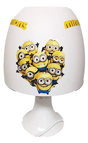✿ Tischlampe ✿ MINIONS ✿ personalisiert mit oder ohne Name ✿ Tischleuchte ✿ Schlummerlicht ✿ Nachttischlampe ✿ Lampe ✿