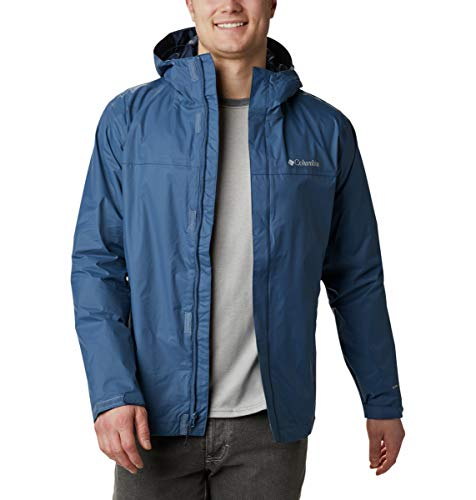 Columbia Watertight II Jacket Giacca a Vento, Tempi di Notte, XL Uomo