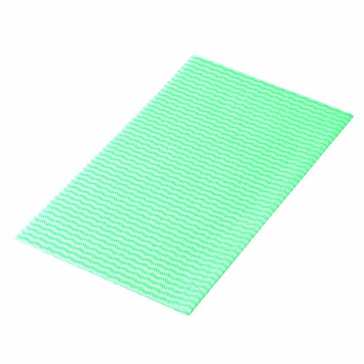 羊の粘着性文芸カウンタークロス(グリーン)薄手 (100枚=小箱)クラフレックス