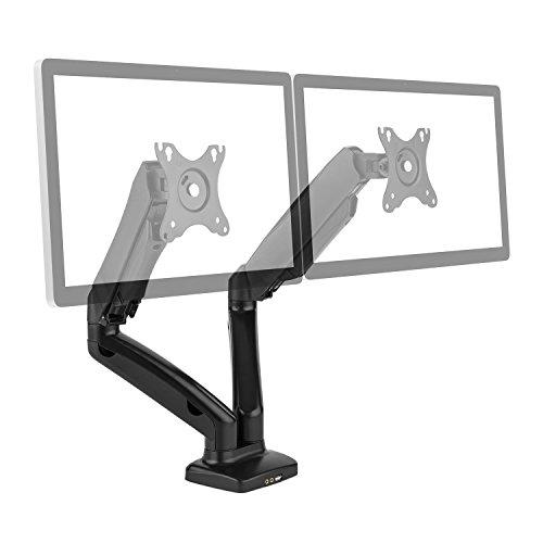 auna LDT13-C024USB Doppel-Monitor Tischhalterung Displayhalterung (13