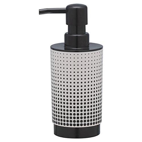 Sealskin Speckles Zeepdispenser, ABS, Zwart