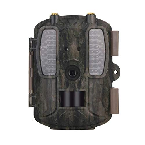 KTYX Cellular Trail Camera, Wireless via Link App or Cell Provider, Invisible LEDs, Blur Reduction & IR Boost Tech, 2' Screen, 0.3s Trigger, 100' Detection & 80' Flash Hunting Camera