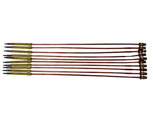 ALGAN Thermoelement für Potis Gyrosgrill Dönergrill Dönermaschine ø 5mm Länge 330mm M8x1 10er Pack