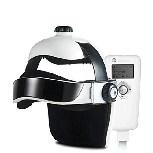 zorvo Head Massager, Electric Head Massage,Electric Helmet Massager ,Acupressure Massage Helmet with Heat, Air Pressure, Vibration ,Music for Head Stress Relief - USA