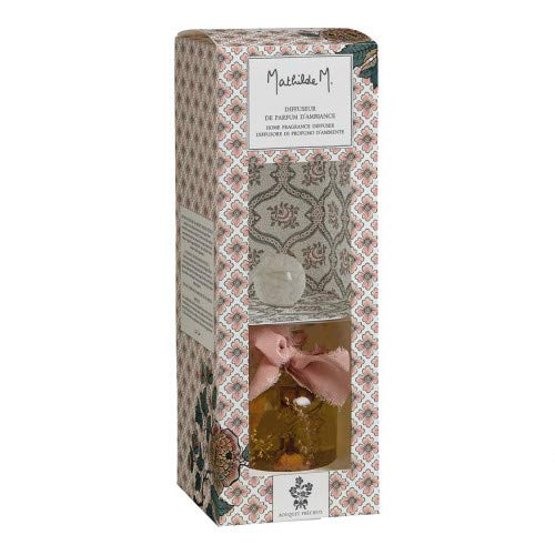 Mathilde M Diffuseur avec bâtonnets et fleurs séchées 120 ml Herbier Précieux arôme Bouquet Précieux