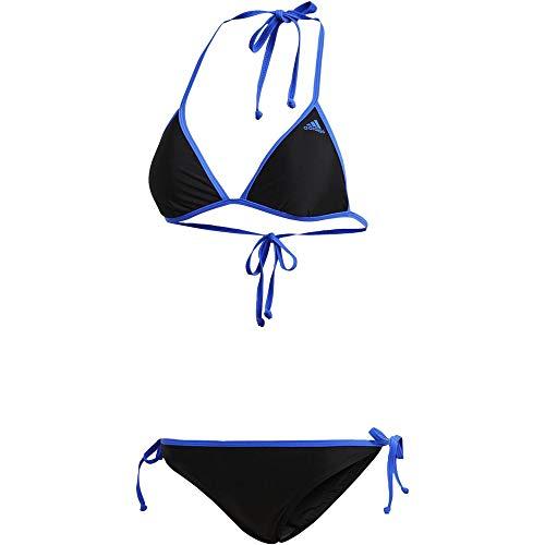 adidas BW Bik Sol 2 Bikini, Mujer, Negro (Negro/azalre), 30