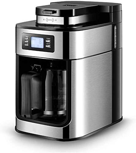 TEHWDE Espressomachine, koffiezetapparaat, automatische molen, vers gekookte Amerikaanse koffiekan, thezetapparaat, theemachine, theemachine, Barista, koffiezetapparaat