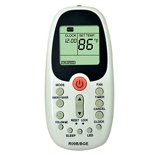 Replacement Compatible for Arctic King Window Air Conditioner Remote Control R09B/BGE