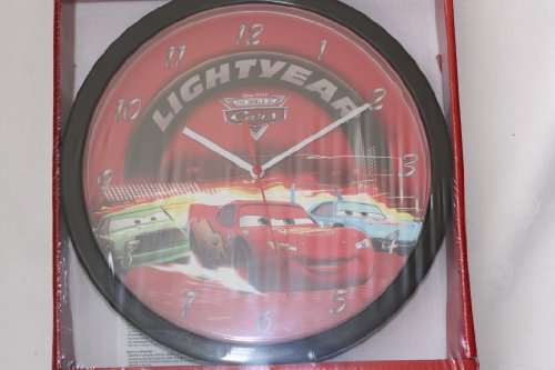 Disney Cars enfants Horloge Horloge murale 25 x 25 cm