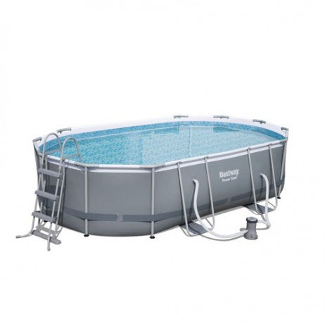 Bestway Kit piscina Oval Power Steel Frame IV