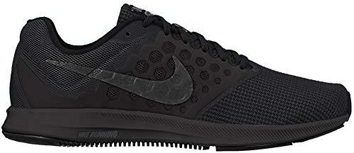 Nike Women's Downshifter 7 Black/Mtlc Hematite Anthracite Running Shoe 6 Women US
