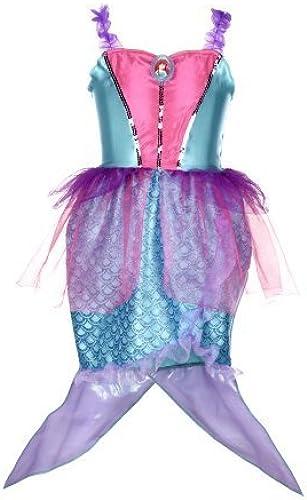alta calidad Disney Princess Princess Princess Ariel Mermaid Dress by Disney Princess  directo de fábrica