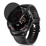 Vaxson Anti Spy Schutzfolie kompatibel mit CanMixs zl05 smartwatch Smart Watch, Displayschutzfolie Bildschirmschutz Privatsphäre Schützen [nicht Panzerglas]