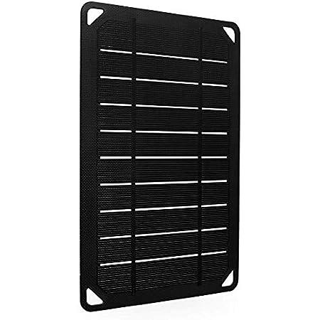 Renogy Portable E.Flex Monocrystalline 5W Solar Panel with USB Port for Charging, Hiking and Biking