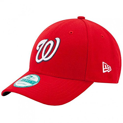 New Era Washington Nationals 9forty Adjustable Cap - MLB The League - Red - One-Size