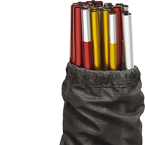 FJALLRAVEN Abisko Shape 2 Pole Kit d'accessoires pour tentes, Adultes, Unisexe, Multicolore, Taille Unique