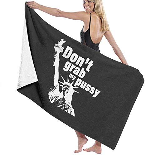 U/K Don't Grab Liberty! 1 toalla de baño de secado rápido