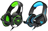 Primary kind of gaming headset, perfect for playing games, listening music, etc. Soft cushion head-pad and ear-pad, as well as adjustable length hinges guarantee hours of gaming comfort Driver Size: 40mm, Impedance: 32 Ohms Suitable for PC, Laptops, ...