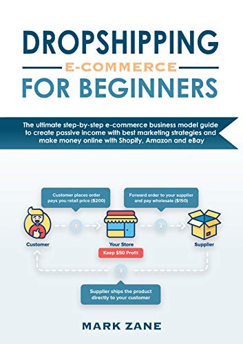 DROPSHIPPING e-commerce For Beginners: The ultimate step-by-step e-commerce business model guide to create passive income with best marketing strategies ... money online with Shopify, Amazon, Ebay
