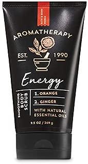 Bath & Body Works Aromatherapy Energy Orange Ginger Smoothing Body Scrub 11oz