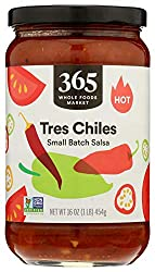 365 by Whole Foods Market, Salsa, Small Batch Tres Chiles - Hot, 16 Ounce