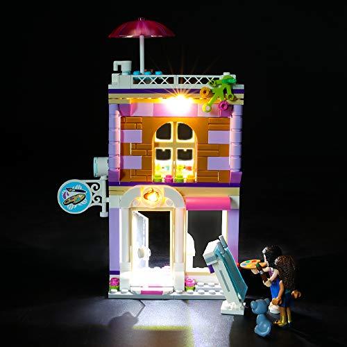 BRIKSMAX Led Beleuchtungsset für Lego Friends Emmas Künstlerstudio,Kompatibel Mit Lego 41365 Bausteinen Modell - Ohne Lego Set