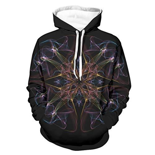 Hombres Sudaderas Coloridas Piel Amable - Diseño Suéter