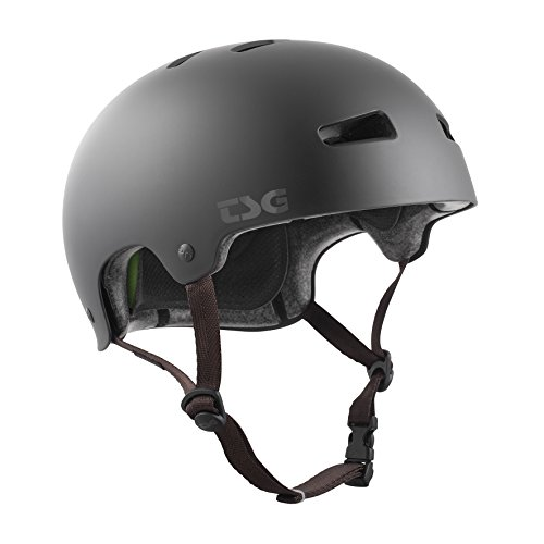 TSG Kinder Kraken Solid Color Helm, Satin Black, XXS/XS