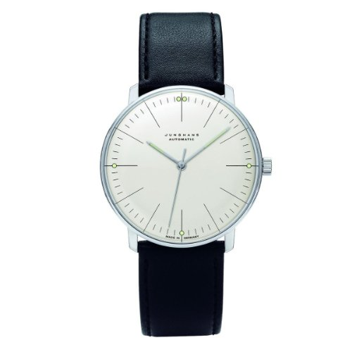 Hot Sale Max Bill Automatic Wrist Watch with Lines