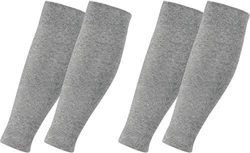 RS. Harmony | Stützstulpen | Elastische Helfer mit Kompression | 2 Paar | silber | L/XL