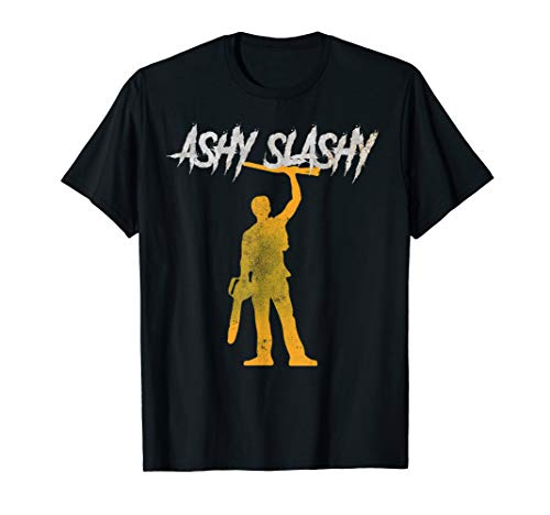 ASHY SLASHY My Boomstick Shotgun Chainsaw Dead Tee Evil T-Shirt