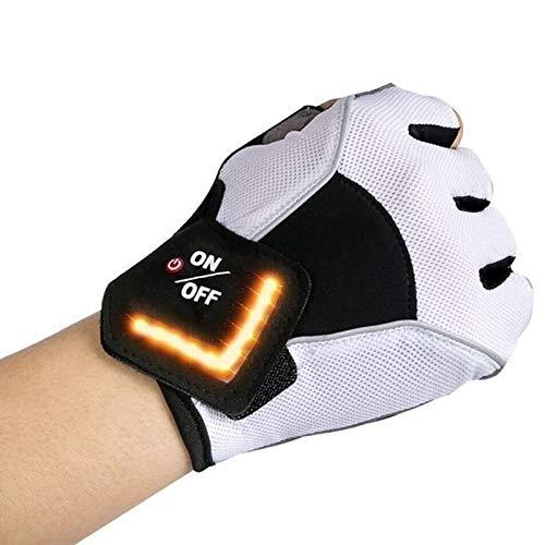 TOOGOO Fahrrad Handschuhe Intelligente Led Turn Automatische Induktion Blinker Handschuhe Warn Licht Handschuhe Au?en REIT Handschuhe...