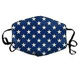 Jack of The United States Cubierta de la Cara Orejeras Ajustables Transpirable Reutilizable Cubierta de Boca al Aire Libre Cubierta de Polvo para Adultos Niños