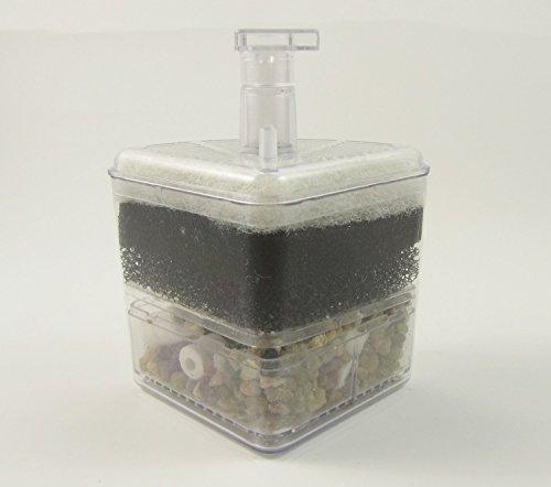 Xy-2008 Fish Tank Aquarium Pompe Air Driven Bio coupure du filtre éponge Fry Betta