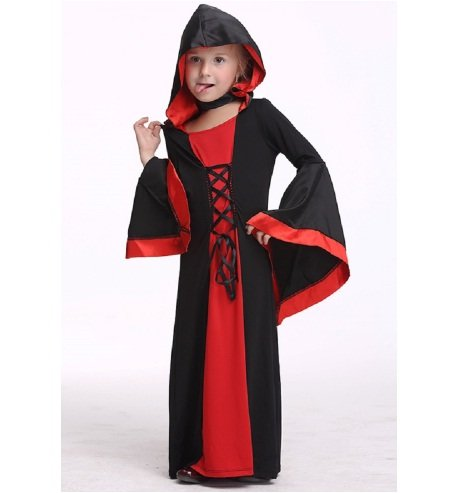 Halloween Costumes Girl Black Fly Witch Fancy Dress Costume Dress   Party   School Events   Fancy Dress   Birthday   B'day Party   Gift   Baby Show (6 to 8 yrs)