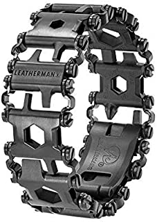 New Leatherman Tread Black Stainless Steel Multitool Bracelet