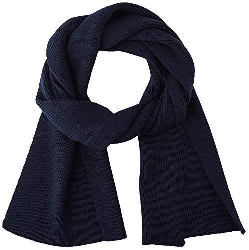 BOSS Herren Afoxos Schal, Dark Blue404, ONESI