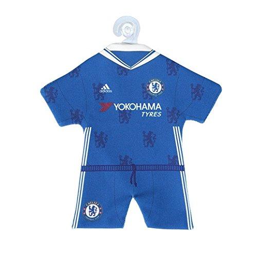 Originele FC Chelsea Londen minikit voor de auto/raam thuisshirt + broek 2016-2017 met zuignap