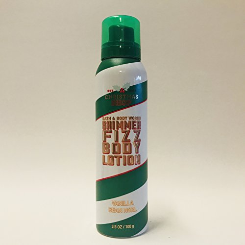 Bath and Body Works Shimmer Fizz Lotion Vanilla Bean Noel 3.5 Ounce Holiday 2017 Collection