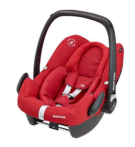 Maxi-Cosi Rock - Silla infantil para coche (grupo 0+, 0-13 kg, 0-12 meses), varios colores rojo Talla:Gruppe 0+ (0-13 kg)