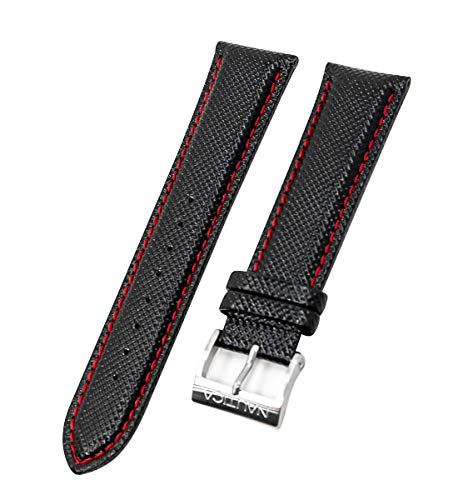 Nautica Men's A14670G NST 07 Multi Black 22mm Original Replacement Watch Band