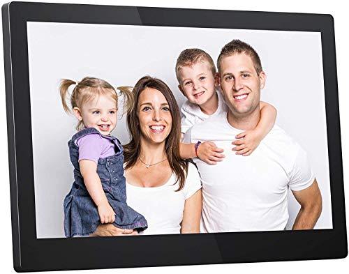 Dragon Touch WiFi Digital Photo Frame, 15.6 Inch FHD Touch Screen WiFi...