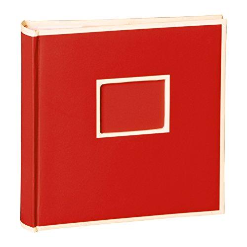 Semikolon (351133) 200 Pocket Album red (rot) - Fotoalbum/Fotobuch mit Einschubtaschen für 200 Bilder im Format 10x15 cm - 2 Bilder pro Seite