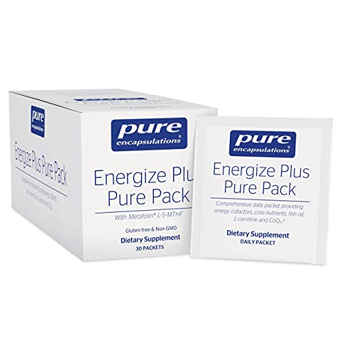 Pure Encapsulations Energize Plus Pure Pack   Supplement to Support Energy Production, Weight Management**, and Nutrient Metabolism*   30 Packets
