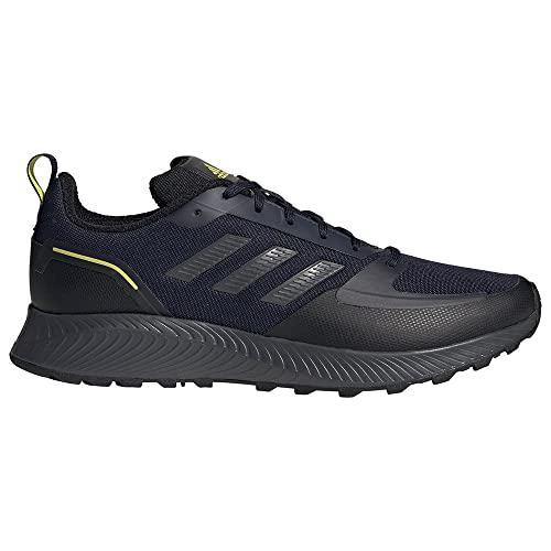adidas RUNFALCON 2.0 TR, Zapatillas de Running Hombre, Tinley/GRISEI/AMAACI, 44 EU