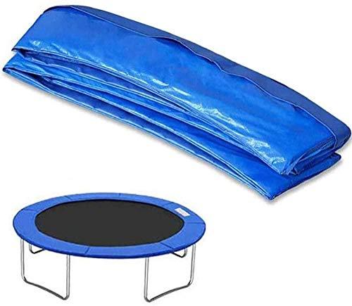 Stronrive Reemplazo Trampolín Almohadilla Protectora, Cubierta De Resorte, Cojín De Protección Azul De PVC Cubierta,Cubierta para Borde De Cama Elástica, Resistente A Los Desgarros,14FT