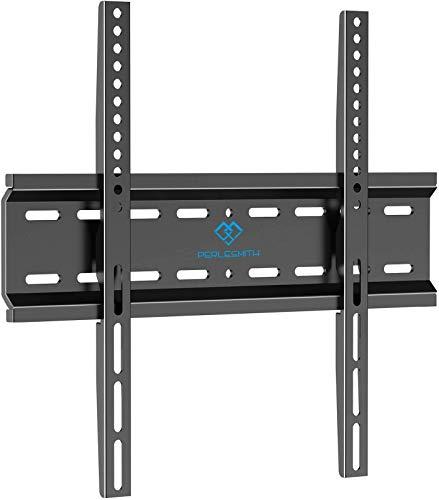 TV Wandhalterung Fernseher Wandhalterung für 26-47 Zoll Flach&Curved Fernseher Oder Monitor bis zu 50kg, Max.VESA 400x400mm