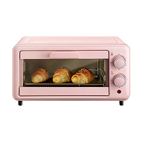 Mini Electric Oven, Multi-Function Household Oven, 11l Capacity, S-Shaped Stainless Steel Heating Tube, Single Side Detachable Slag Tray, Making Delicious Food for You